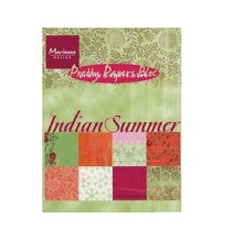 Marianne Design Pretty Papers, A5, Indian Summer, 32 sheets, 4 x 8 motifs