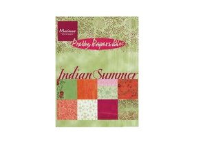Marianne Design Papeles bonitas, A5, Indian Summer, 32 hojas, 4 x 8 motivos