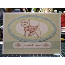 "Papierblock ""Pampered Pets"""