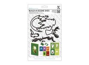 X-Cut / Docrafts Schneide- und Prägeschablone für eine Shadow Box Karte, Rentier