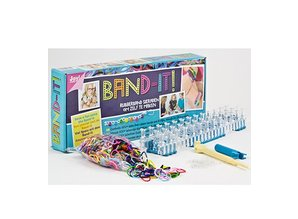 BASTELZUBEHÖR / CRAFT ACCESSORIES Band-It, starter package for 24 Bracelets of Joy Crafts!