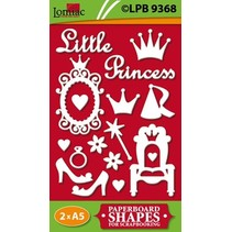 Chipboards, Litle Princess