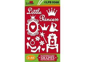 Embellishments / Verzierungen Chip boards, Litle Princess
