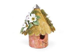 Sizzix Skæreskabelon XL - Birdhouse, Afrundet 3-D, for Sizzixt, stansning og prægning stencils -
