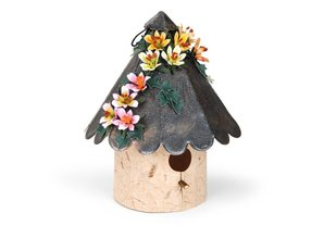 Sizzix Bigz XL - Birdhouse, Rounded 3-D, for the Sizzixt, punching and embossing stencils -