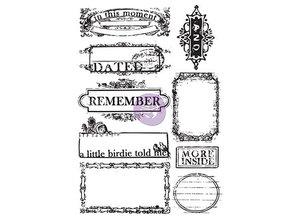 Prima Marketing und Petaloo Rubber stamp, Prima Marketing