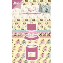 Joy Crafts, Sweet, Süssigkeiten, 35x43/43x26/25x21 mm
