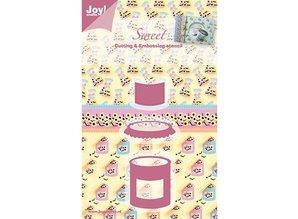 Joy!Crafts und JM Creation Joy Crafts, Sweet, Sweets, 35x43/43x26/25x21 mm