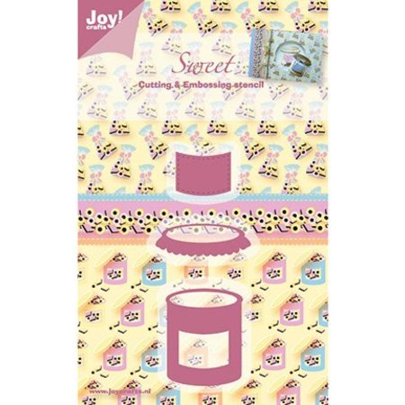 Joy!Crafts und JM Creation Joy Crafts, Sweet, Süssigkeiten, 35x43/43x26/25x21 mm