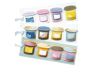 Joy!Crafts und JM Creation Joy Crafts, søde, Slik, 35x43/43x26/25x21 mm