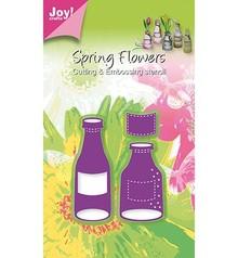 Joy!Crafts und JM Creation Joy Crafts, bottles and labels, 31x55/27x71/21x18mm