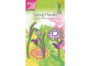Joy!Crafts und JM Creation Joy Crafts, blomster 3stk / 44x79 / 40x69 / 49x93mm