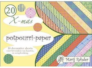 DESIGNER BLÖCKE  / DESIGNER PAPER Blocco Designer, A5-pot-pourri-carta