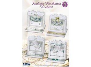 BASTELSETS / CRAFT KITS: set Materiale di 4 carta di nozze nobile