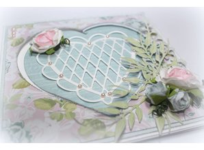 Joy!Crafts und JM Creation Skabelon Heart