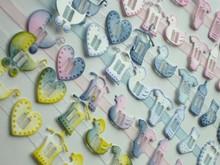 Joy!Crafts und JM Creation Schneide- und Prägeschablone für 8 Baby Knöpfe