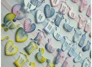 Joy!Crafts und JM Creation Plantilla de corte y estampado de 8 botones para bebés