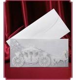 BASTELSETS / CRAFT KITS: 3 bryllup kort med træner