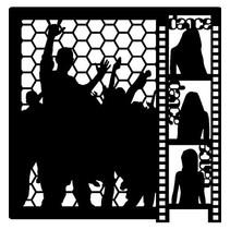 Mask, Designs, 300 x 300mm - Mask Stencil Dance