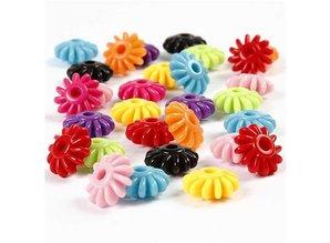 Kinder Bastelsets / Kids Craft Kits Rädermix, D: 27 mm, colori Asstd, 10 pezzi in una piccola borsa