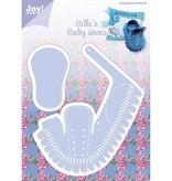 Joy!Crafts und JM Creation La perforación de plantilla: Zapatos de bebé 3D
