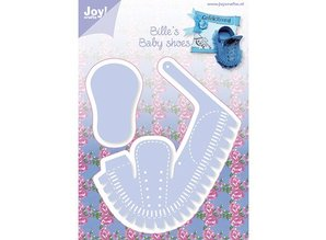 Joy!Crafts und JM Creation Stansning skabelon: 3D Baby Sko