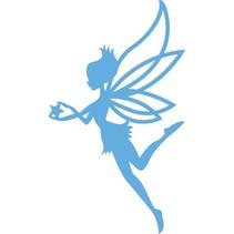 Prægning og udskæring skabelon, engel, fe