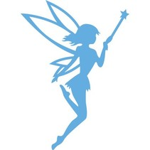 Embossing and cutting template, angel, fairy