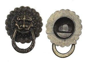 Embellishments / Verzierungen 2cm apretones nostálgico, 2 piezas