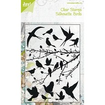 Klare frimærker, fugle, 148x210 mm