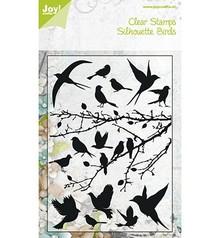 Joy!Crafts und JM Creation Klare frimærker, fugle, 148x210 mm