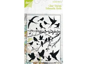 Joy!Crafts und JM Creation Clear stamps, birds, 148x210 mm