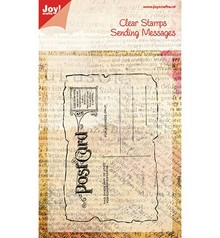 Joy!Crafts und JM Creation Transparent frimærke, postkort, 125x80mm