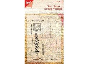 Joy!Crafts und JM Creation Transparent stamp, Postcard, 125x80mm