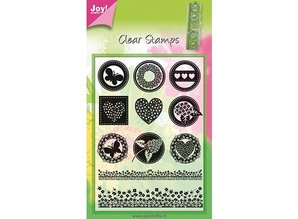 Joy!Crafts und JM Creation sello transparente, 11 diseños