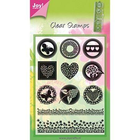Joy!Crafts und JM Creation Gennemsigtig stempel, 11 designs
