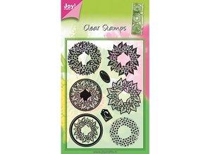 Joy!Crafts und JM Creation gennemsigtige frimærker