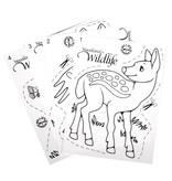 Kinder Bastelsets / Kids Craft Kits Schrumpffolien-Set Wildlife