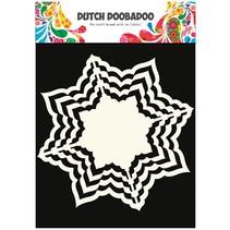 Kraftpapier, Dutch DooBaDoo, 16 x 16cm
