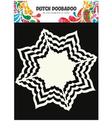 Dutch DooBaDoo Kraft, hollandsk DooBaDoo, 16 x 16cm