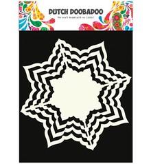 Dutch DooBaDoo Kraftpapier, Dutch DooBaDoo, 16 x 16cm