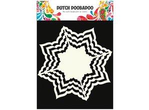 Dutch DooBaDoo Hollandsk DooBaDoo, sne stjerner - Copy