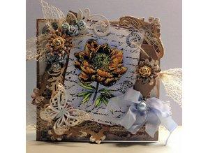 Joy!Crafts und JM Creation Klare frimærker, blomster