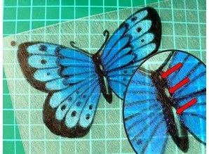 BASTELZUBEHÖR / CRAFT ACCESSORIES Shrink film plates, sheet 20x30 cm, Transparent, 5 sheets
