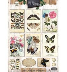 Vintage, Nostalgia und Shabby Shic 4A bue, My Botanic Garden