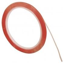 Dobbeltklæbende tape ekstra stærk, 6mm, gennemsigtig, 10m