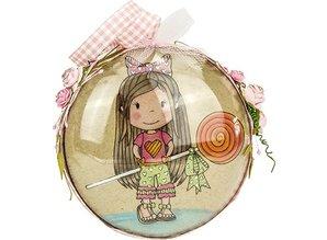 STEMPEL / STAMP: GUMMI / RUBBER Rubber Stamps - Paper dolls nest