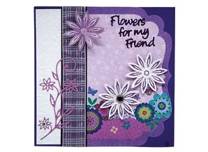 Joy!Crafts und JM Creation Stamping and embossing stencil and templates for borduren