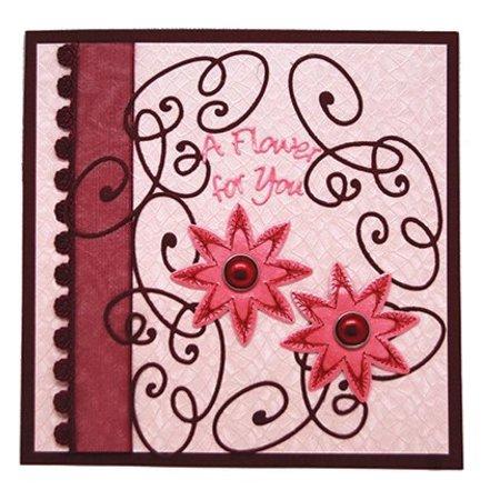 Joy!Crafts und JM Creation Presning og prægning stencil og skabeloner til borduren