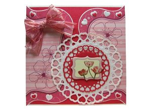 Joy!Crafts und JM Creation Joy Crafts, 4 punching and embossing stencils